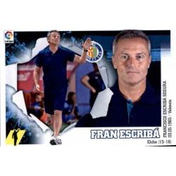 Fran Escribá Getafe 2 Ediciones Este 2015-16