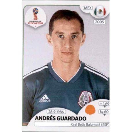 Andrés Guardado México 463 México
