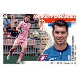 Andrés Fernández Granada 3 Ediciones Este 2015-16