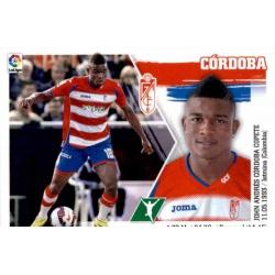 Córdoba Granada 19 Ediciones Este 2015-16