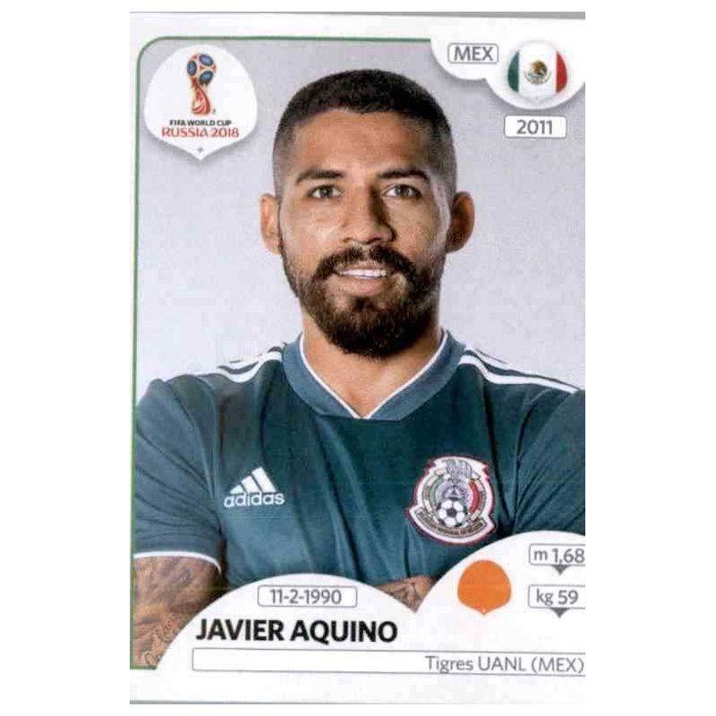 Javier Aquino Sticker 465 Panini WM 2018 World Cup Russia Mexico