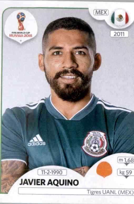 Guillermo Ochoa Sticker 454 Panini WM 2018 World Cup Russia Mexico