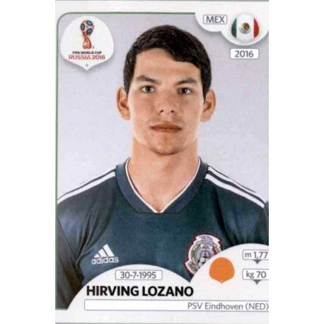 Hirving Lozano México 467 México