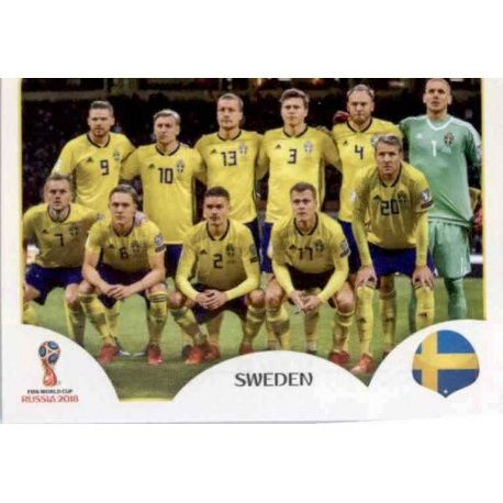 Alineación Suecia 473 Sweden