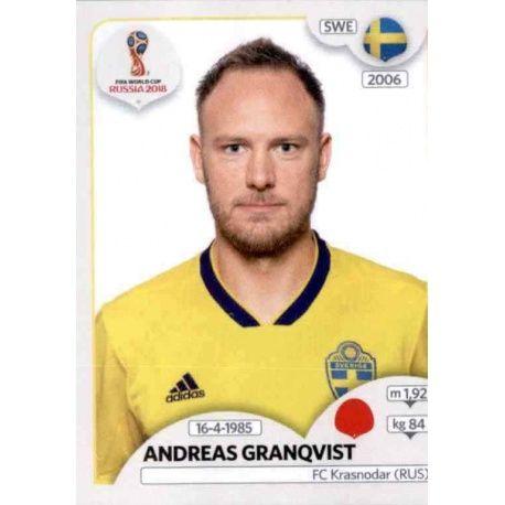Andreas Granqvist Suecia 477 Suecia