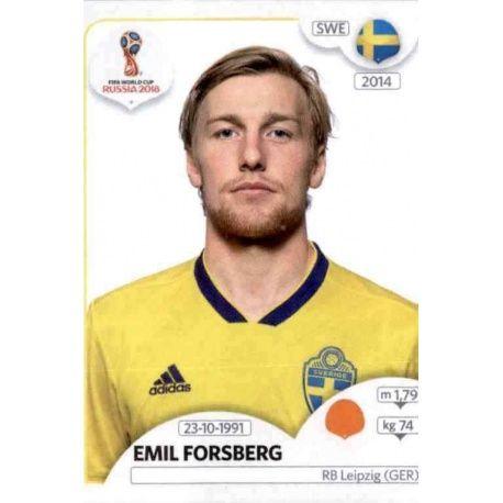 Emil Forsberg Suecia 483 Suecia