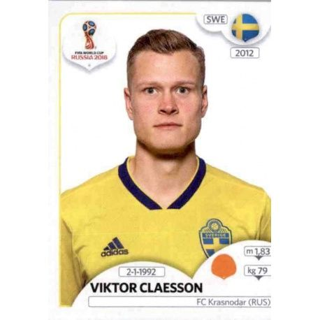 Viktor Claesson Suecia 485 Suecia