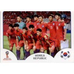 Alineación Corea del Sur 493