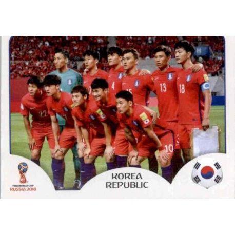 Alineación Corea del Sur 493 South Korea