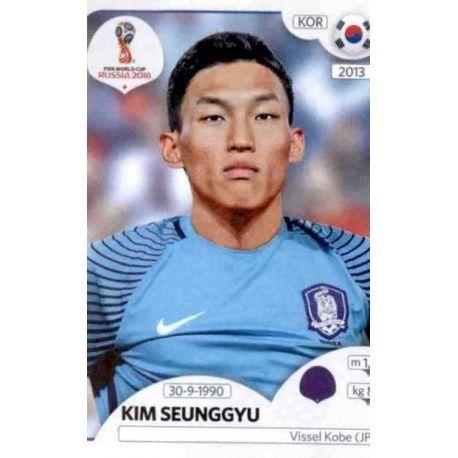Kim Seung-gyu Corea del Sur 494 Corea del Sur