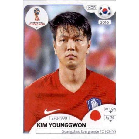 Kim Young-gwon Corea del Sur 495 Corea del Sur