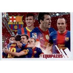 Barcelona Equipazos 4 Ediciones Este 2013-14