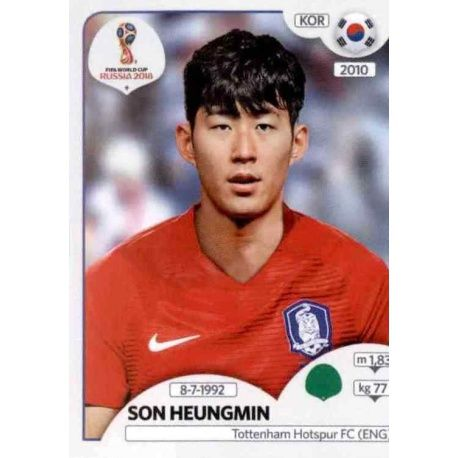 Son Heung-min Corea del Sur 508 South Korea