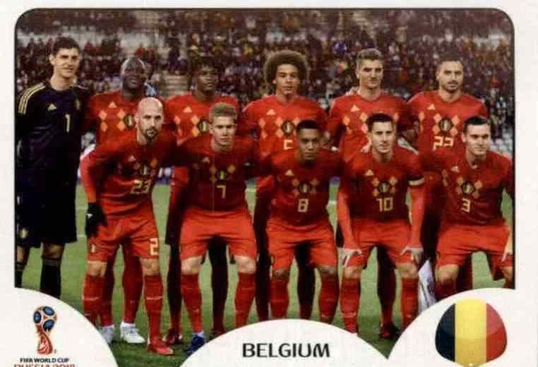 Romelu Lukaku Panini WM 2018 World Cup Russia Belgien Sticker 531