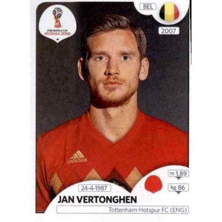 Jan Vertonghen Bélgica 517 Bélgica