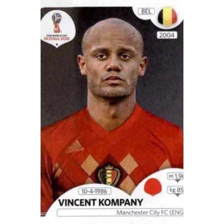 Vincent Kompany Bélgica 518 Bélgica