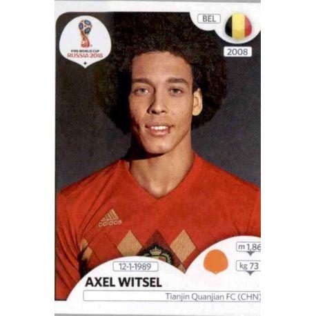 Axel Witsel Bélgica 520 Bélgica