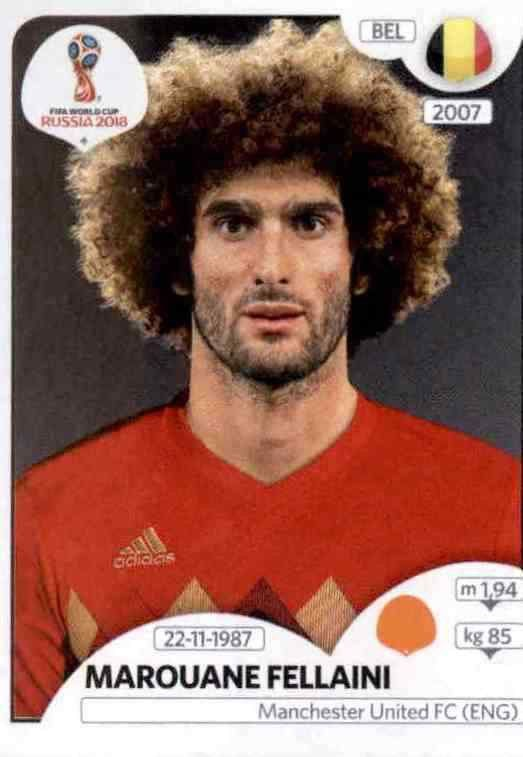 Panini WM 2018 World Cup Russia Thomas Meunier Belgien Sticker 519