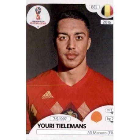 Youri Tielemans Bélgica 524 Bélgica