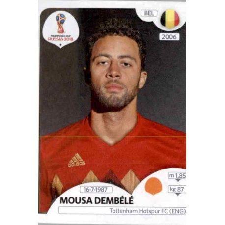 Mousa Dembélé Bélgica 525 Belgium