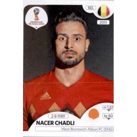 Nacer Chadli Bélgica 526 Bélgica