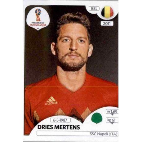Dries Mertens Bélgica 529 Belgium