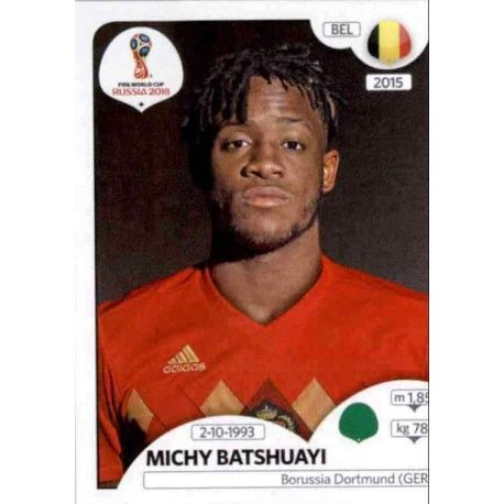Michy Batshuayi Bélgica 530 Bélgica