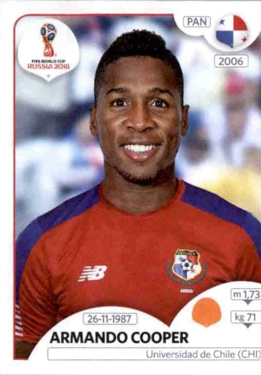 Sticker 539 Panini WM 2018 World Cup Russia Adolfo Machado Panama