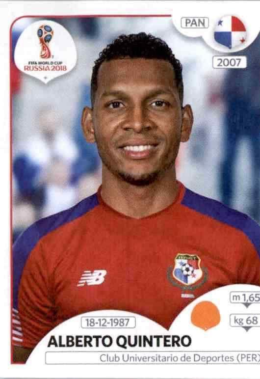 Panini WM 2018 World Cup Russia Édgar Bárcenas Panama Sticker 544