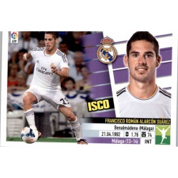 Isco Real Madrid Doble Imagen UF7 Ediciones Este 2013-14