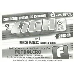 Gorca Iraizoz Error Ediciones Este 2013-14