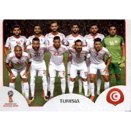 Alineación Túnez 553 Tunisia