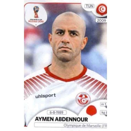Tunesien Sticker 554 Aymen Mathlouthi Panini WM 2018 World Cup Russia
