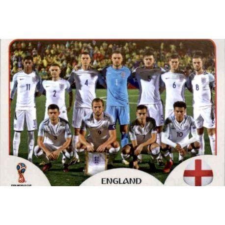 Alineación Inglaterra 573 England