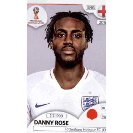 Danny Rose Inglaterra 580 Inglaterra
