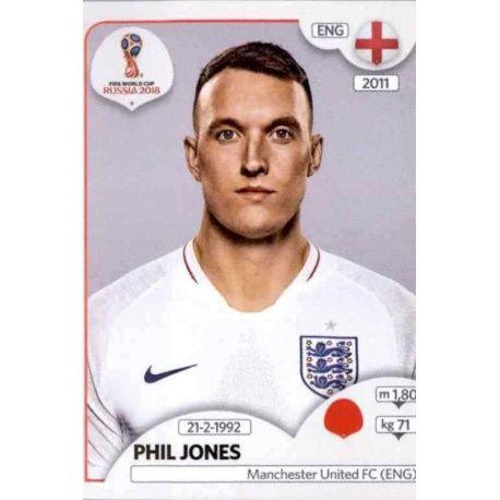 Phil Jones Inglaterra 581 Inglaterra