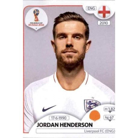 Jordan Henderson Inglaterra 582 England