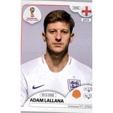 Adam Lallana Inglaterra 586 Inglaterra