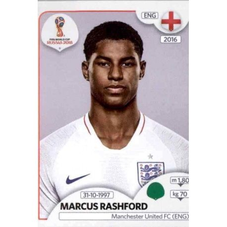 Marcus Rashford Inglaterra 590 England