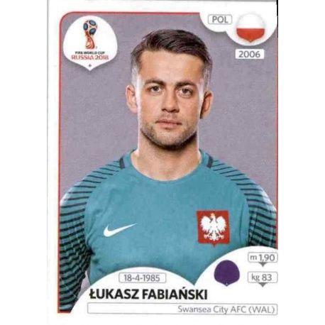 Łukasz Fabiański Polonia 594 Poland