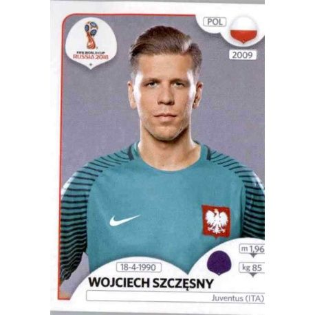 Wojciech Szczęsny Polonia 595 Poland