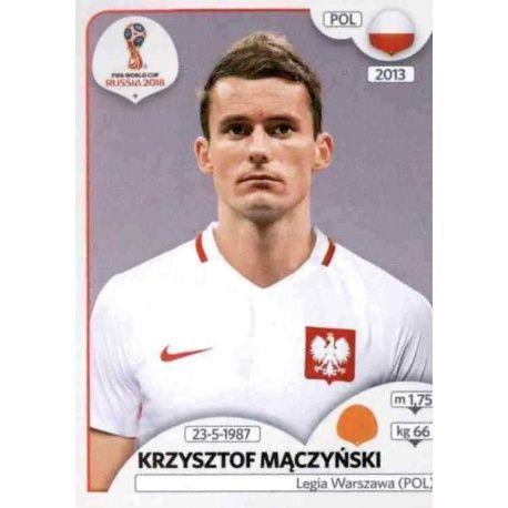 Krzysztof Mączyński Polonia 606 Polonia