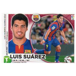 Luis Suárez Barcelona Doble Imagen UF14 Ediciones Este 2014-15