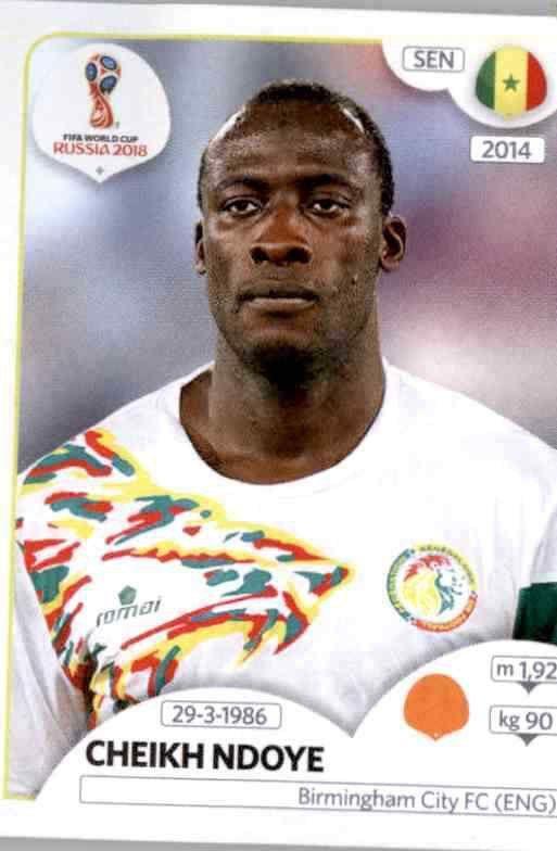 Moussa Konaté Senegal Sticker 627 Panini WM 2018 World Cup Russia