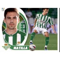 Matilla Betis 11A Ediciones Este 2012-13