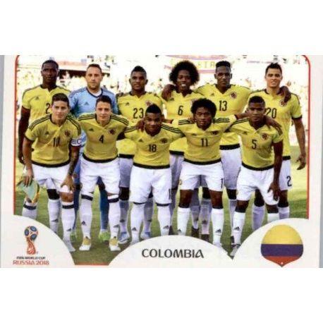 Alineación Colombia 633 Colombia