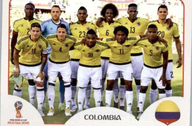 Panini WM 2018 World Cup Russia Giovanni Moreno Kolumbien Sticker 644