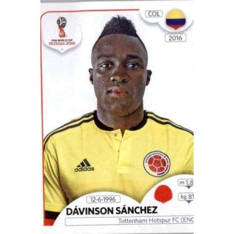 Davinson Sánchez Colombia 638 Colombia