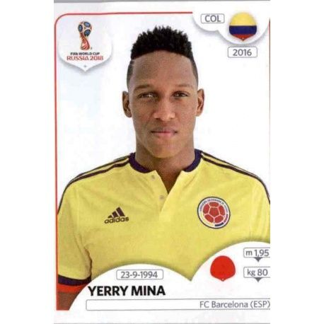 Yerry Mina Colombia 639 Colombia