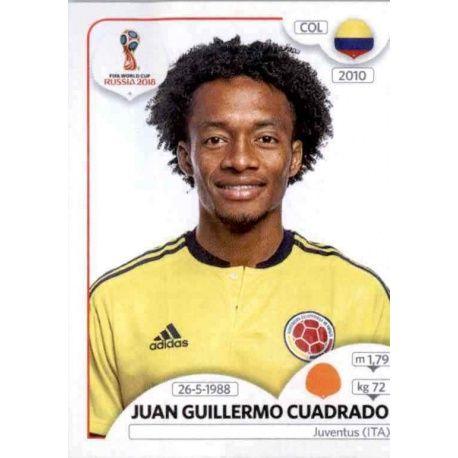 Juan Guillermo Cuadrado Colombia 641 Colombia